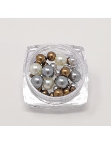 Perle 3 Misure Metallic