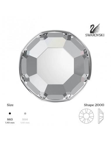 Swarovski® 2000 Crystal SS3 (1,35-1,50mm)